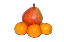 Fruit, Pear, Tangerines