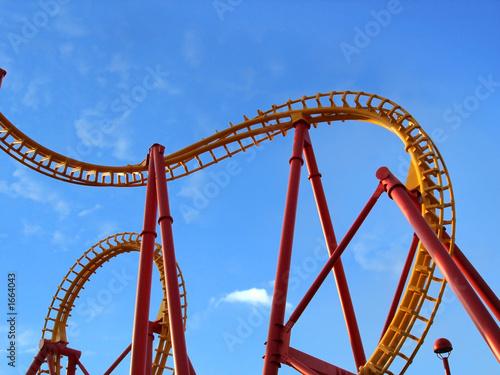 Recess Fitting Amusement Park roller coaster