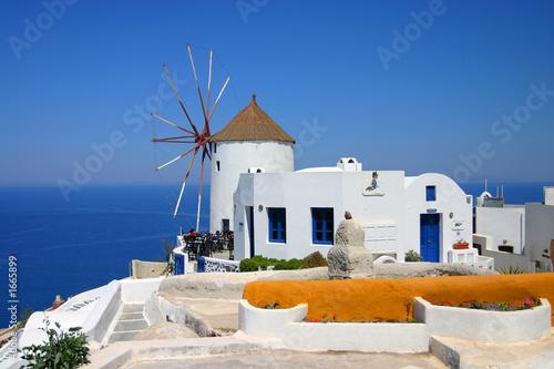 Foto-Flächenvorhang - windmill (von PixAchi)