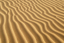 Ridges Of Sand Formed In Sand ...