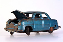 Broken Tin Toy Car