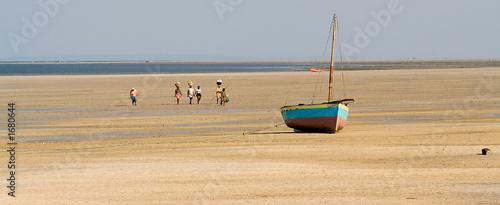 Fotografie, Obraz fishermen in vilanculos
