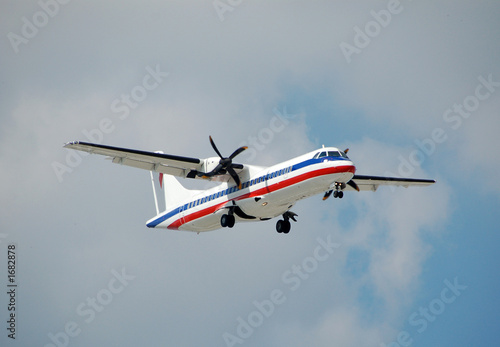 Photo  aerospetiale atr-72 turboprop