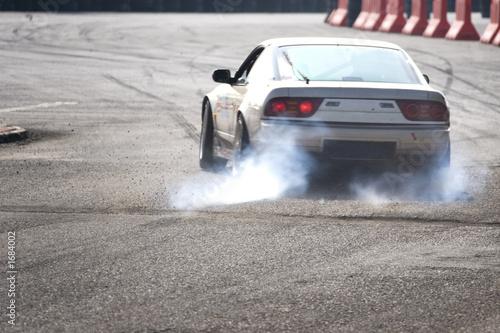 Fotografía drift racing