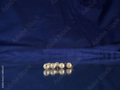 pearls... Canvas Print