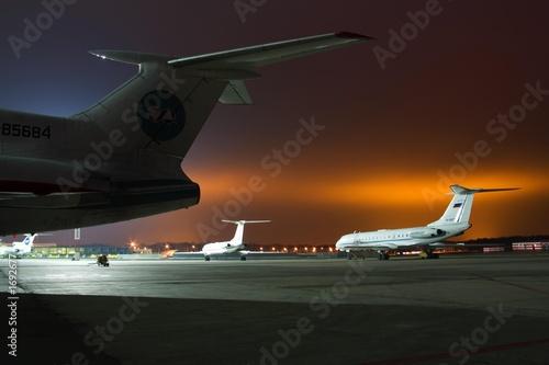 Foto op Aluminium Luchthaven planes