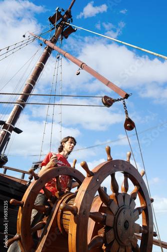 Staande foto Zeilen mr.captain
