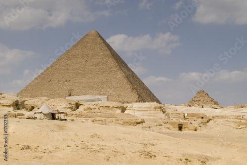 In de dag Egypte the great pyramid