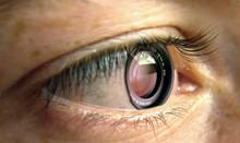 Oeil Avec Objectif Photo