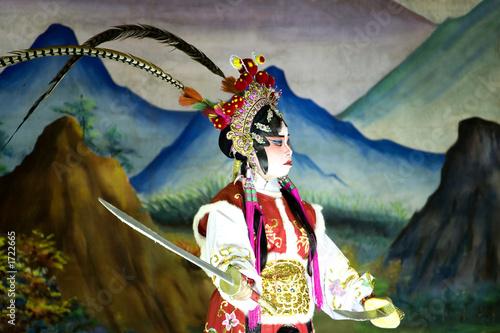 Fotomural chinese roadside opera