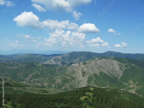 Foto op Aluminium Indonesië crimea mountain
