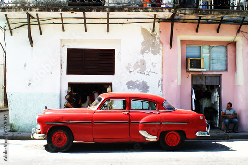 Papiers peints Havana havana car