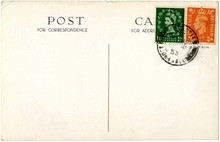 A Britishpostcard From 1953