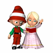 Christmas Caroling 1
