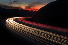 Freeway Sunset