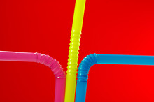 Olored Drinking Straw