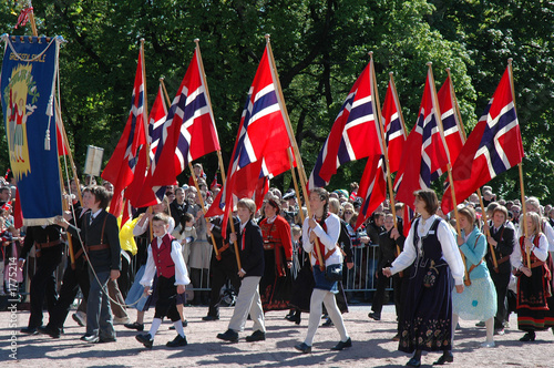 children's parade, oslo