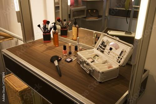 Fototapeta makeup table