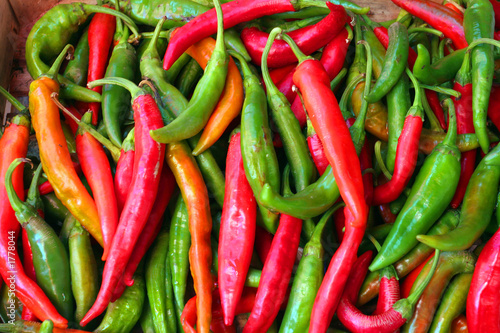 Fototapety, obrazy: hot peppers