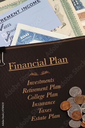 Photo  financial plan
