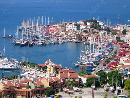 Poster Turquie marmaris harbor