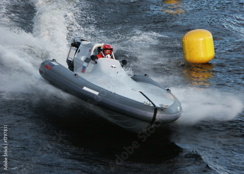 Wall Murals Water Motor sports 24 hour race