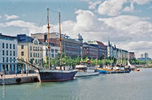 Fotografie, Obraz helsinki north harbor, finland