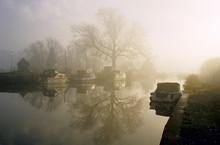 A Misty Sunrise On The River L...