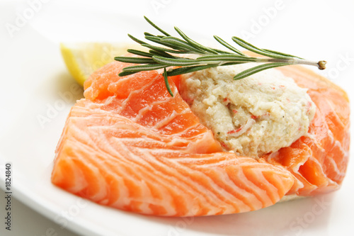 Fotografie, Obraz  stuffed salmon