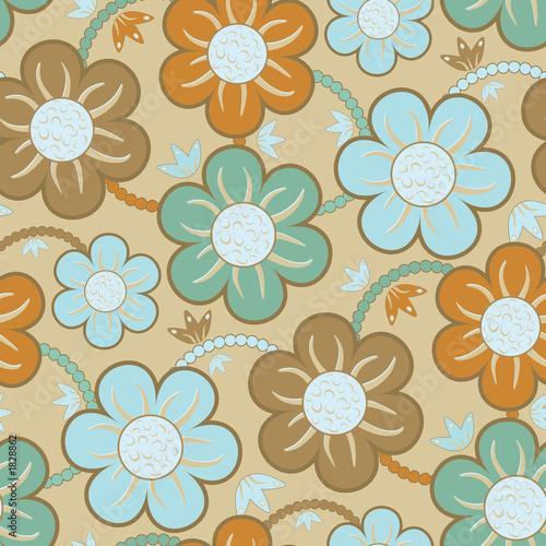Foto-Rollo - seamless wallpaper pattern (von artzone)
