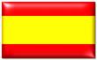 canvas print picture - spanien fahne spain flag