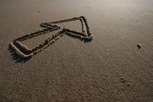Pfeil Im Sand