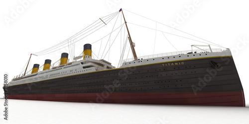 Photo titanic ground view