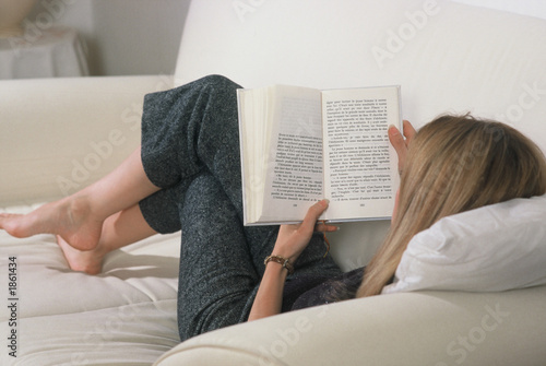 Fotografia femme lecture