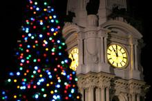 Christmas Clocktower