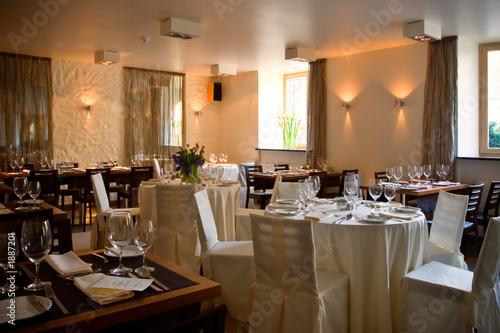Fotobehang Restaurant restaurant interior