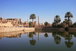 canvas print picture karnak - tempel des amun re - ägypten
