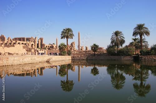 Tuinposter Egypte karnak - tempel des amun re - ägypten
