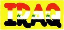 Iraq - Vector Illustration