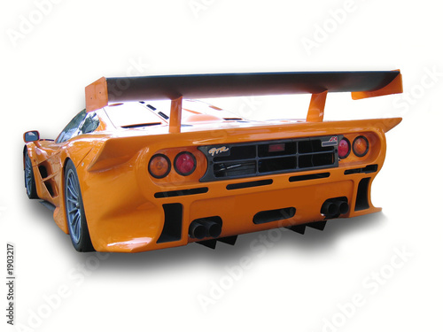 Door stickers F1 mclaren f1 gtr