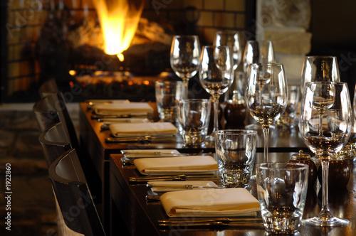 Fotografie, Obraz  restaurant ready