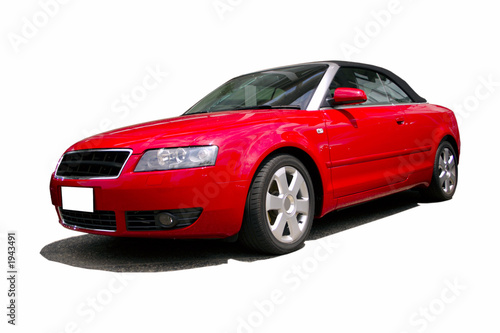 Poster Voitures rapides red sports car