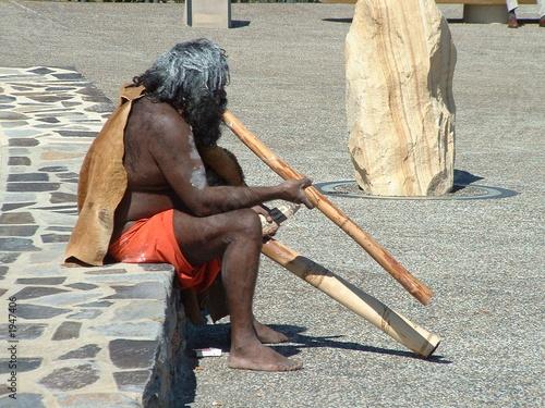Photo aborigeno australiano