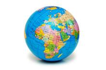 Globe Isolated On The White Background