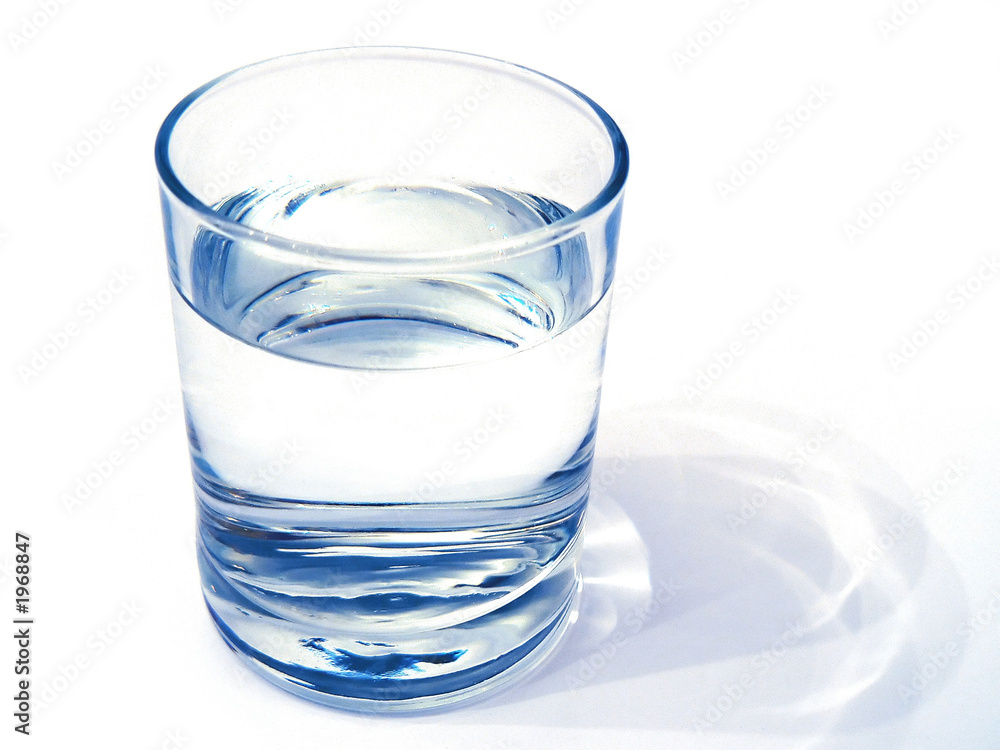 Fototapeta verre d'eau