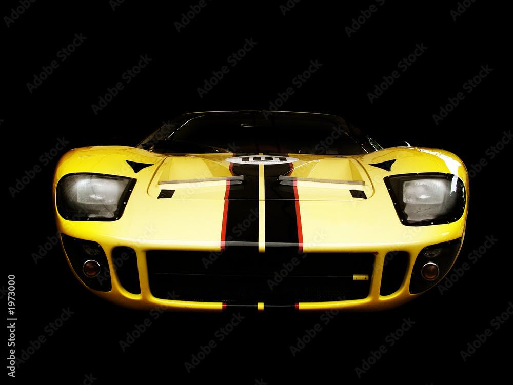 Foto-Doppelrollo - sports car