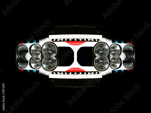 abstract sportcar Poster