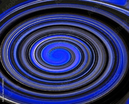 Photo  blue swirl