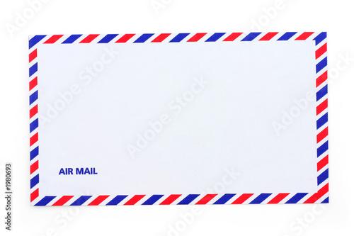 airmail envelope Canvas Print