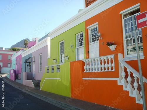 Foto op Canvas Zuid Afrika le cap en afrique du sud - quartier malay